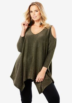 Cold-Shoulder Super Tunic,