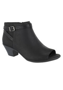 Sparrow Booties by Easy Street®, BLACK SNAKE, hi-res
