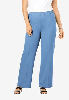 Wide-Leg Bend Over® Pant, HORIZON BLUE