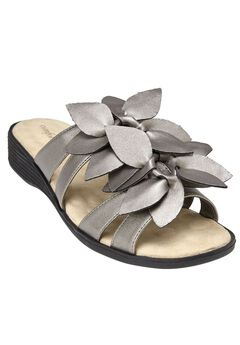 Paula Flower Sandal by Comfortview®,