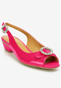 The Raven Slingback by Comfortview®, VIVID PINK