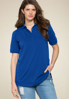 Ultimate Polo Tee, DARK SAPPHIRE, hi-res