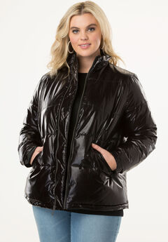 Metallic Ultimate Puffer Jacket,