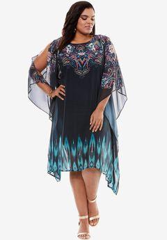 Studded Scarf Dress,