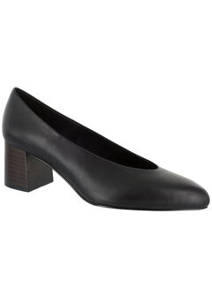 Jensen Pumps by Bella Vita®, BLACK LEATHER