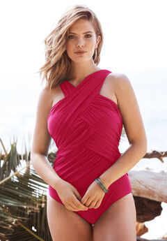 Wrap-Neck Maillot,