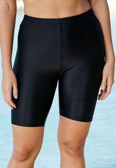 Swim Bike Short, BLACK, hi-res