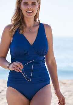 V-Neck One Piece by TrimShaper® by Miraclebrand,