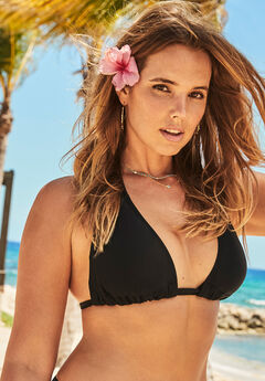Beach Babe Triangle Bikini Top,