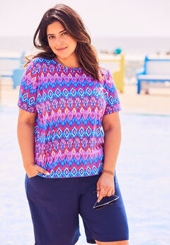 The Swim Tee, MULTI IKAT