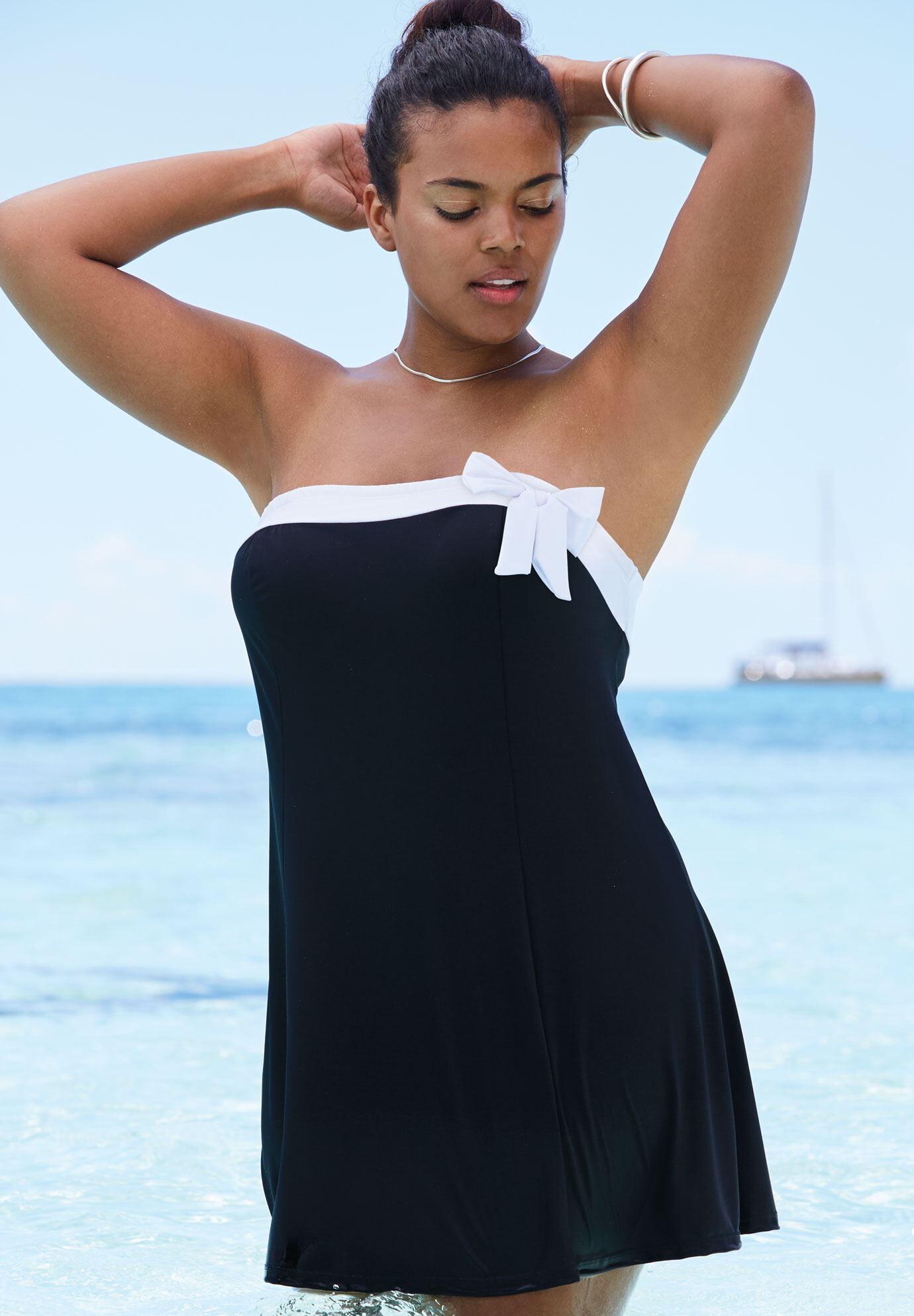 Swim Dress with Bow