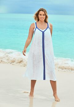 Burnout Cover Up Dress,