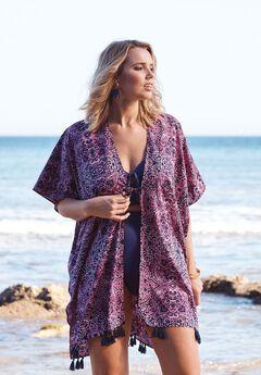 Kimono Caftan, MEDALLION, hi-res