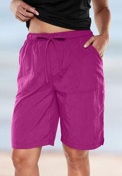 Taslon® Board Shorts, BRIGHT FUCHSIA, hi-res