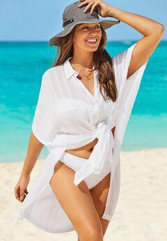 Mila Shirt Dress Cover Up,