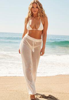 Camille Kostek Crochet Beach Pant,