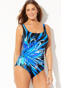 Longitude Tank One Piece Swimsuit,