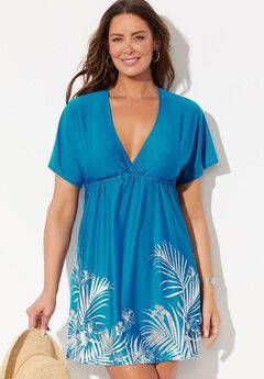 Kate V-Neck Cover Up Dress,