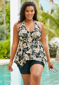 5f23d8ca875 Flared Tankini Top with Bust Support