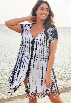 Olivia Shibori Cover Up Tunic,