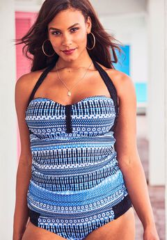 6b1a1e023ec Plus Size Bathing Suits & Swimwear for Women | Roaman's