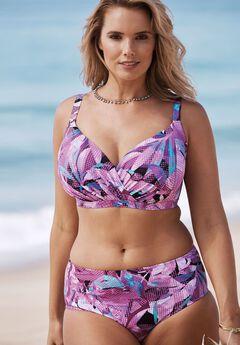 Cross-Front Bikini Top,