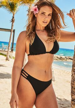 Beach Babe Triangle Bikini Set,