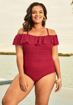 a286821b59f77 Plus Size One Piece Swimsuits