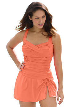 Ruched Tankini Top,