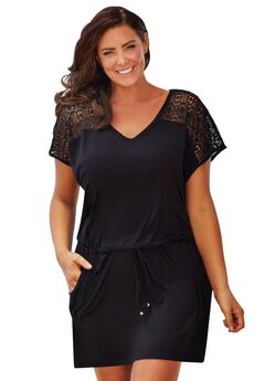 Mesh Top Coverup,