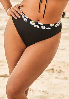 Ashley Graham Daisy Bikini Bottom,
