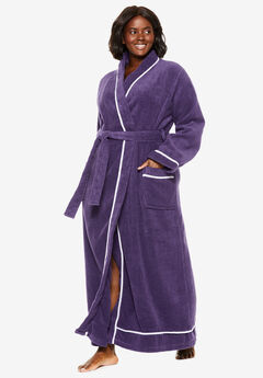 6893ffdce87f Spa Terry Long Wrap Robe by Dreams & Co.®