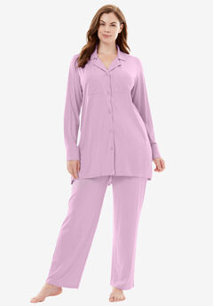 Downtime Sleepwear Solid PJ Set by Dreams & Co.®,