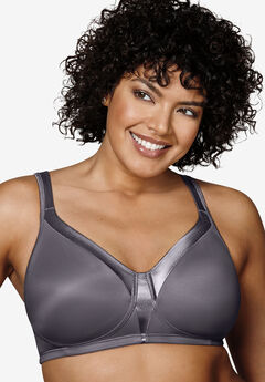 18 Hour Sleek & Smooth Wireless Bra by Playtex®, PRIVATE JET, hi-res