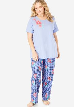 a565e1e59fbc1 Graphic Tee PJ Set by Dreams   Co®