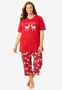 2-Piece Capri PJ Set by Dreams & Co.®,