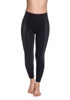 Squeem Chic Vibes Faux Leather Fashion Legging,