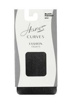 Hanes Curves Fishnet Tights,