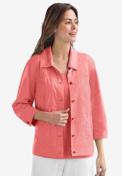linen jacket,