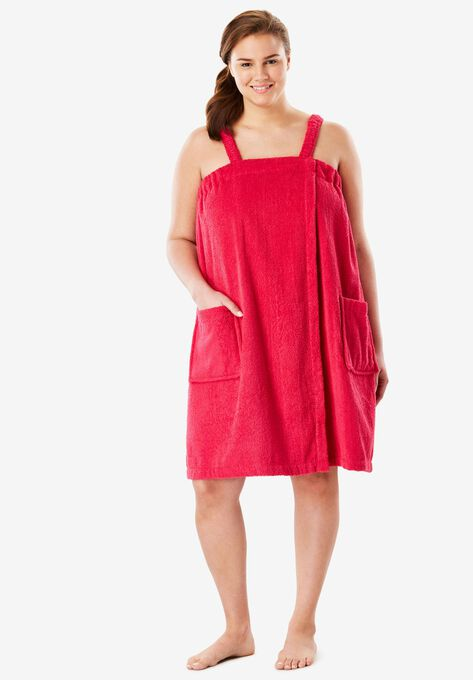 Towel Wrap By Dreams Co Plus Size Sleepwear Roamans