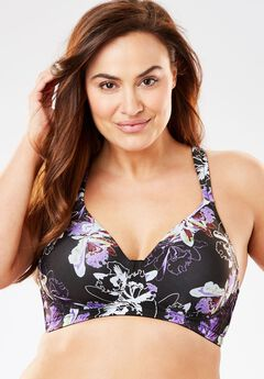 Seamless T-Shirt Bra by Leading Lady®, , hi-res