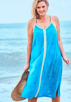 Burnout Cover Up Dress ,