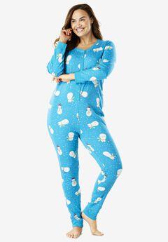 Striped Onesie Pajama by Dreams & Co.®, , hi-res