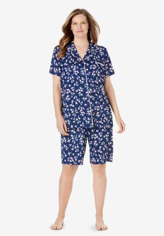 Stretch Knit Pajama Set,