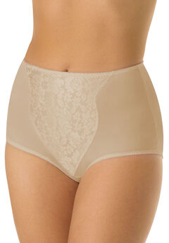 Double support light control brief 2 pack by Bali®, SOFT TAUPE