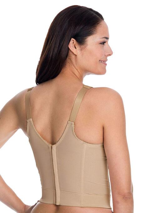 e8e78596ccd9b Back-hook longline posture bra
