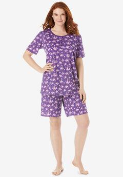 Floral Henley PJ Set,