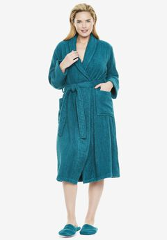 Short Terry Robe by Dreams & Co®,
