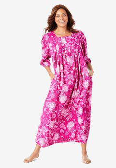 Print Lounger by Only Necessities®, RICH MAGENTA FLORAL