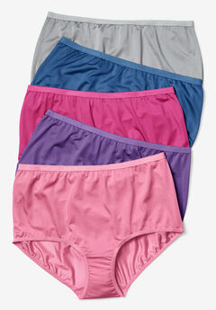 46e072ad9 10-Pack Nylon Full-Cut Brief by Comfort Choice®